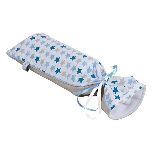Picture of Hot-water bottle cover - Mixed Stars Mint