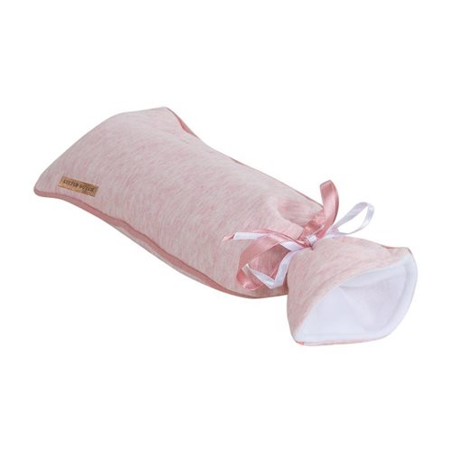 Picture of Hot-water bottle cover Peach Melange