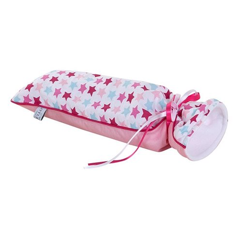 Picture of Hot-water bottle cover Mixed Stars Pink
