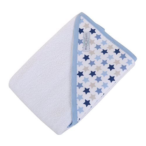 Picture of Hooded towel - Mixed Stars Blue