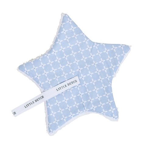 Picture of Pacifier cloth Sweet Blue