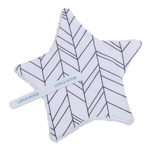 Picture of Pacifier cloth - White Leaves