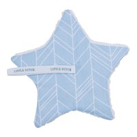 Picture of Pacifier cloth Blue Leaves