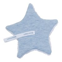 Picture of Pacifier cloth Blue Melange