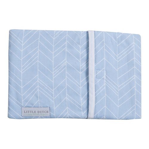 Picture of Babywarmer cover - Blue Leaves