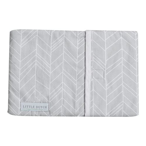 Picture of Babywarmer cover Grey Leaves