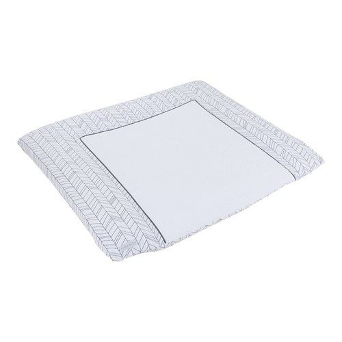 Picture of Changing mat cover Germany White Leaves
