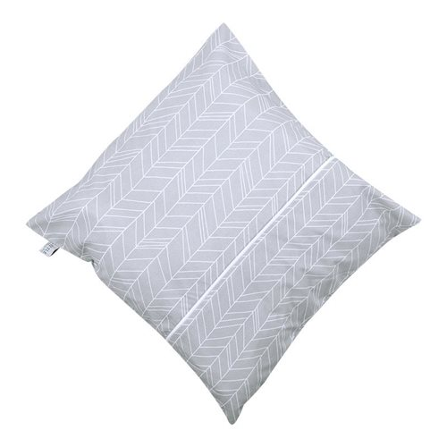 Picture of Cushion Grey Leaves
