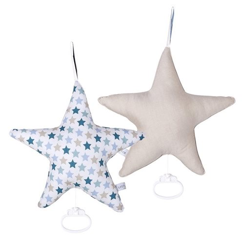 Picture of Star-shaped music box Mixed Stars Mint