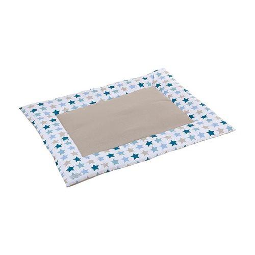 Afbeelding van Boxkleed 80 x 100 Mixed Stars Mint