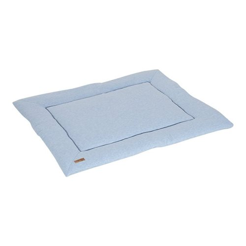 Picture of Playpen mat 80 x 100 - Blue Melange