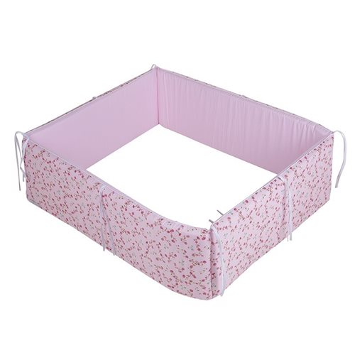 Picture of Playpen bumper Pink Blossom