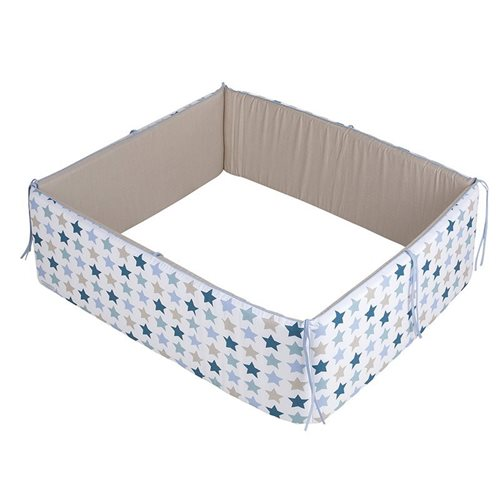 Picture of Playpen bumper Mixed Stars Mint