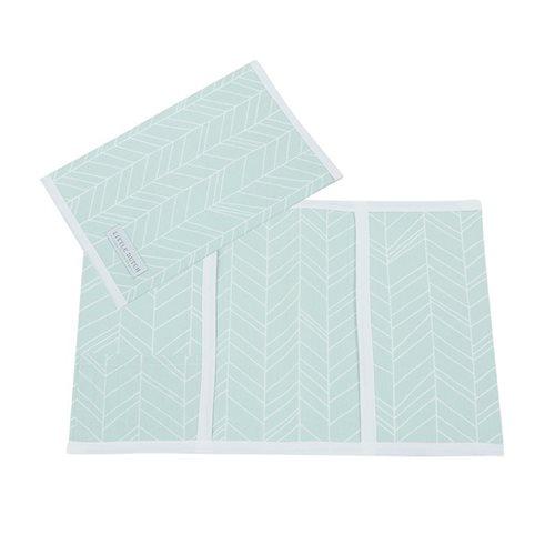 Afbeelding van Hoes voor boekje, klein Mint Leaves