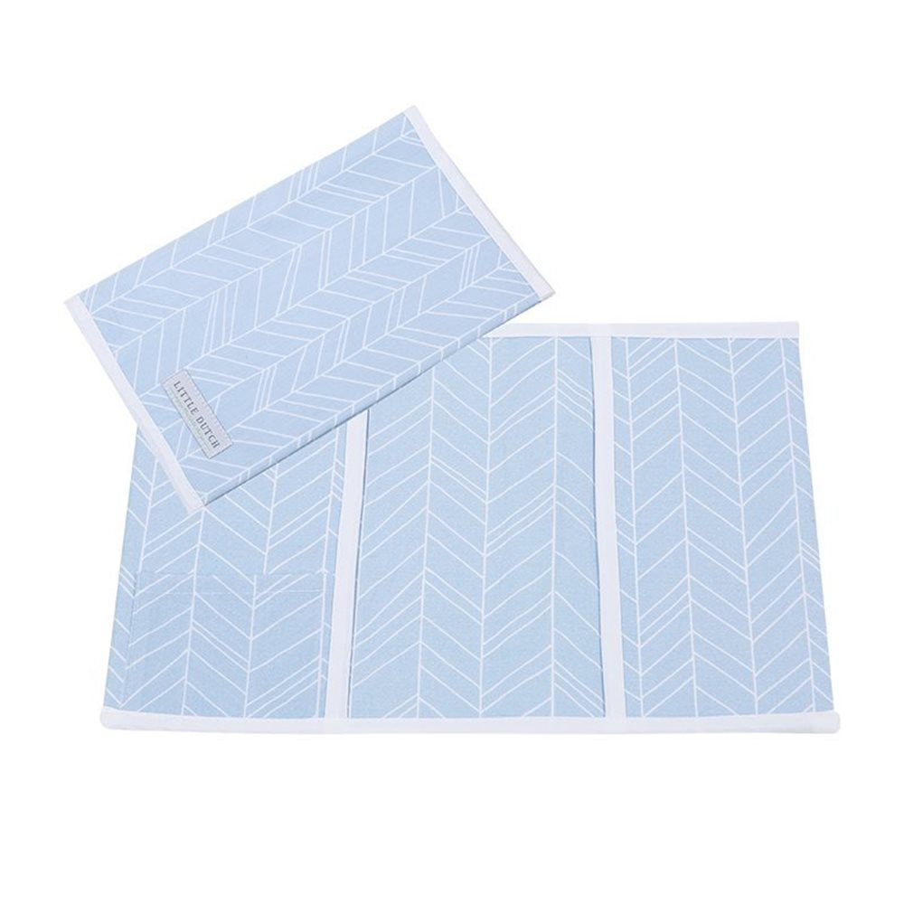 Picture of Booklet cover, small Blue Leaves