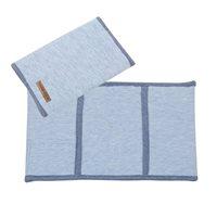 Protège-carnet, petit modèle Blue Melange