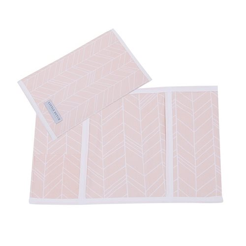 Picture of Check-up booklet cover, small Peach Leaves
