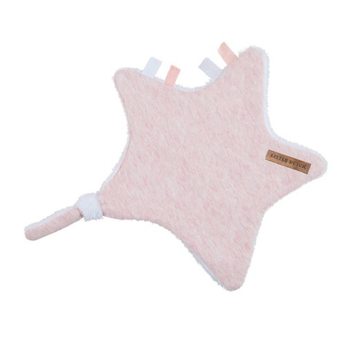 Picture of Cuddle cloth, star - Peach Melange