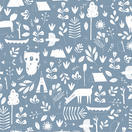 Picture of Wallpaper Adventure Blue