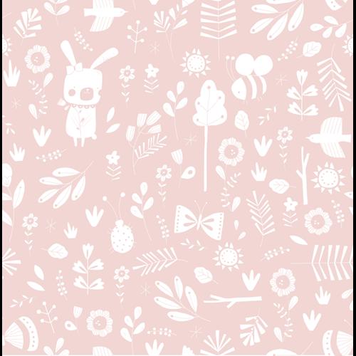 Vliestapete Adventure Pink