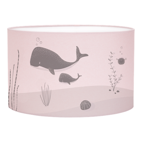 Abat-jour Silhouette Ocean Pink