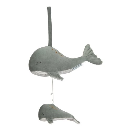 Picture of Music box Whale Ocean Mint