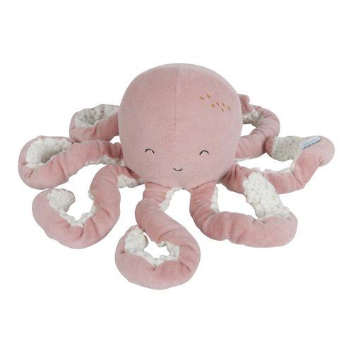Peluche Pieuvre Ocean Pink