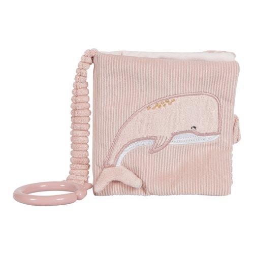 Livre en tissu pour poussette Ocean Pink