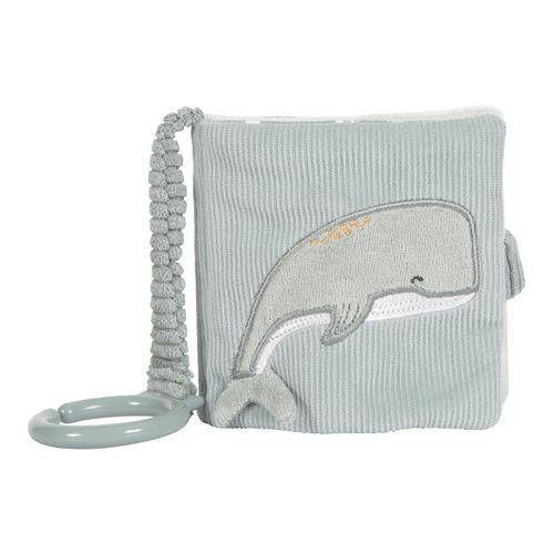 Livre en tissu pour poussette Ocean Mint