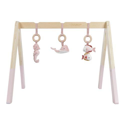 Arceau de jeu en bois Ocean Pink