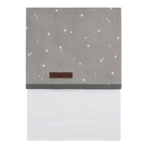 Picture of Cot sheet Little Stars Grey