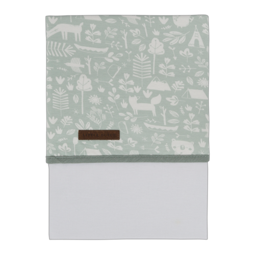 Picture of Cot sheet Adventure Mint