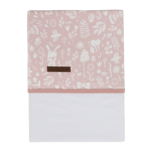 Picture of Cot sheet Adventure Pink