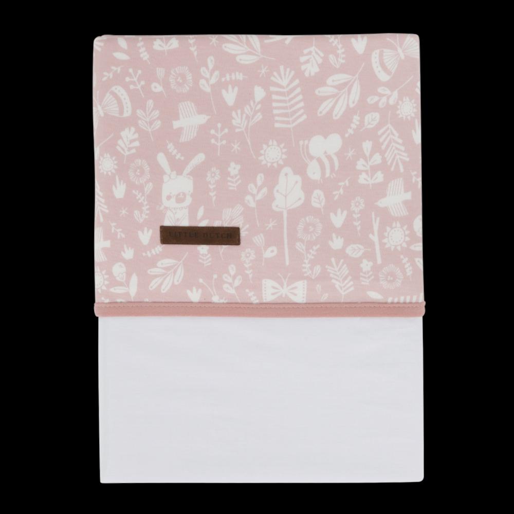 Drap de lit bébé Adventure Pink