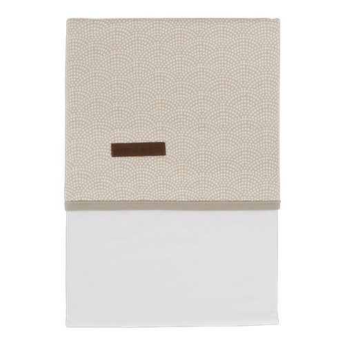 Picture of Bassinet sheet Beige Waves