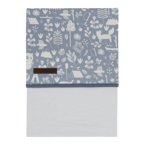 Drap de berceau Adventure Blue