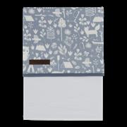 Picture of Bassinet sheet Adventure Blue