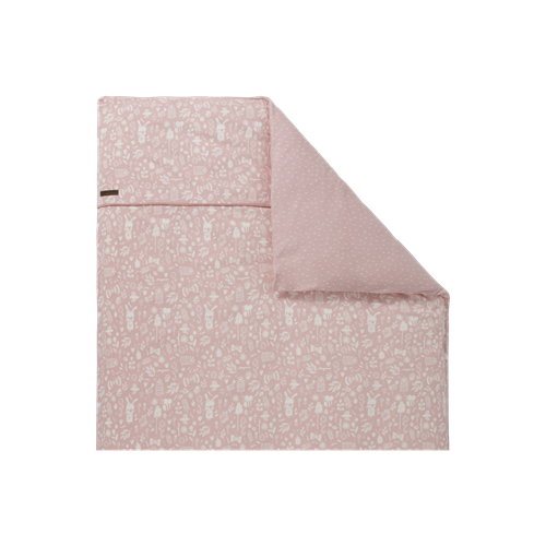 Picture of Bassinet blanket cover 80x80 Adventure Pink