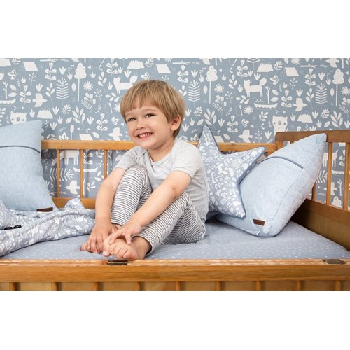 Picture of Cot blanket cover Adventure Blue