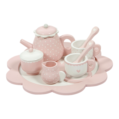 Picture of Tea set pink
