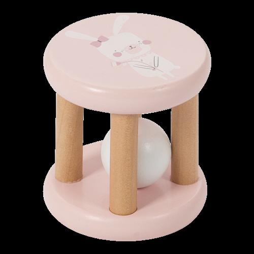 Afbeelding van Rammelaar roller roze