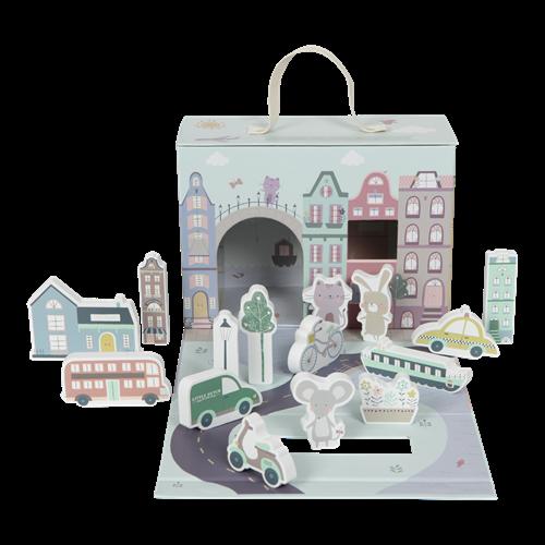 Afbeelding van Speelkoffer stad