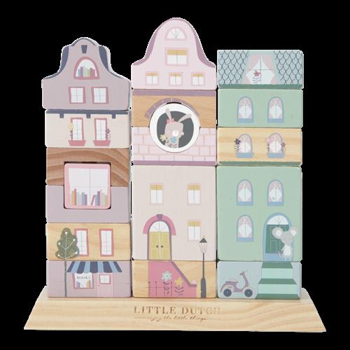 Holz-Formen-Bauklötze - Adventure pink