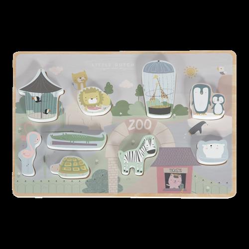 Afbeelding van Vormenpuzzel dierentuin
