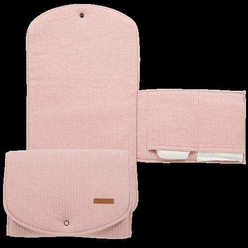 Wickelunterlage für unterwegs Pure Pink