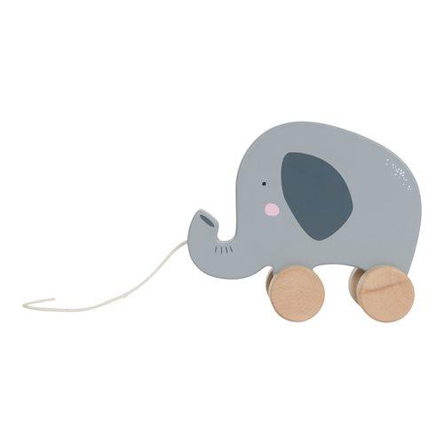 Jouet à tirer éléphant