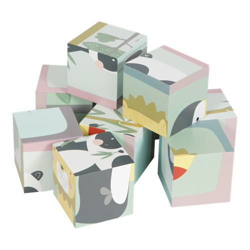 Picture of Cube puzzle Zoo