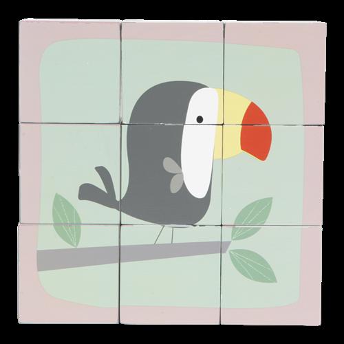 Afbeelding van Blokpuzzel dierentuin