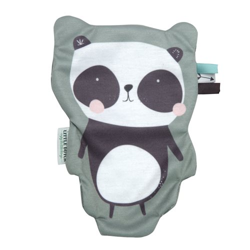 Knister-Tuch Panda mint