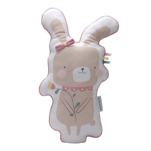 Afbeelding van Kussen konijn roze